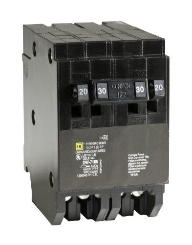 Square D By Schneider Electric Homt2020230cp Homeline 220amp Singlepole 130amp Twopole Quad Circuit Breaker For More Informa Electricity Gadget World Circuit