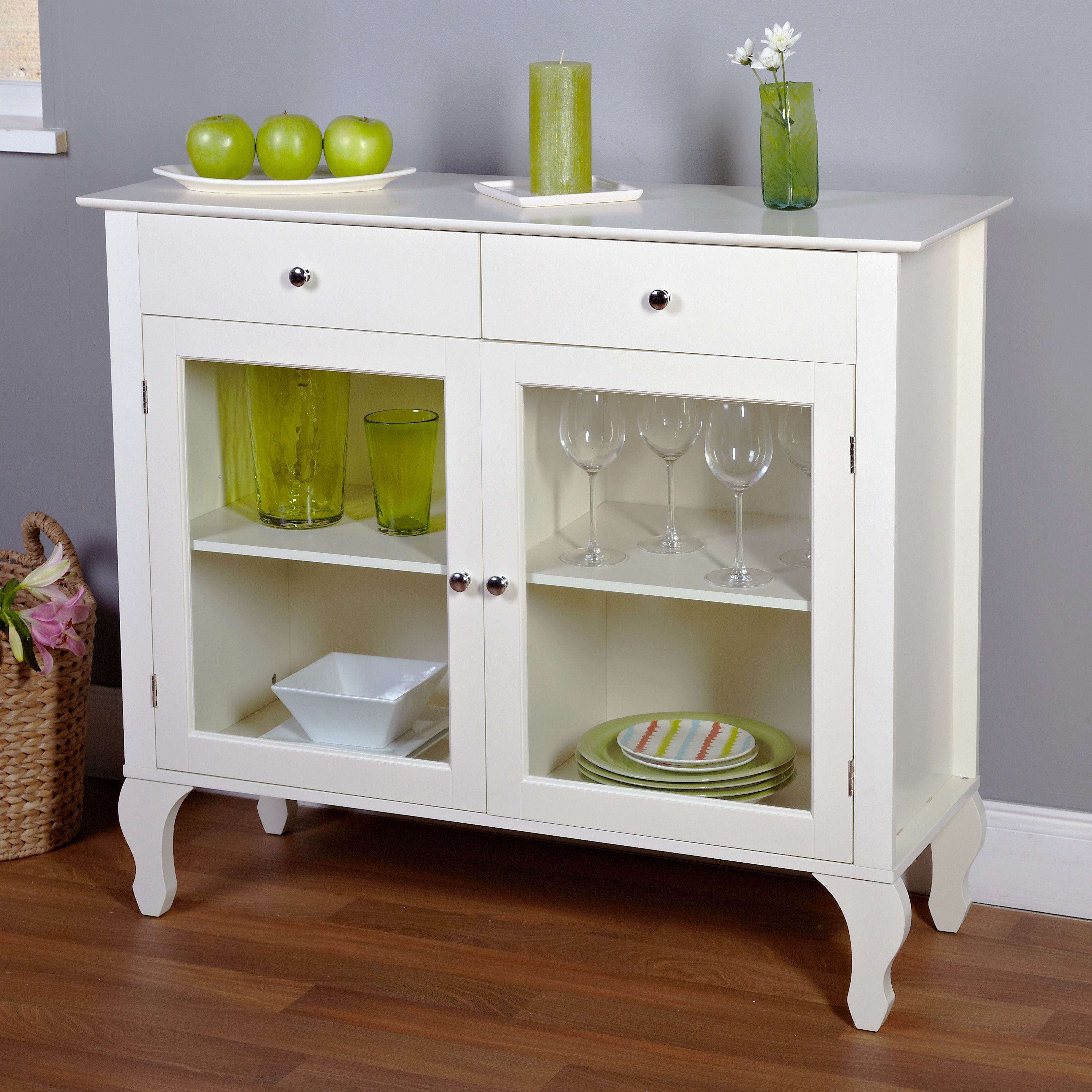 Enhance Your Dining Area With This Beautiful Layla Buffetperfect Best White Dining Room Cabinet Design Decoration