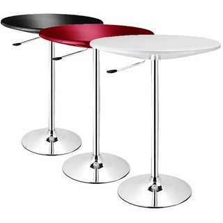 SB Alpha Contemporary Adjustable Bar Table | Overstock.com Shopping   The  Best Deals On
