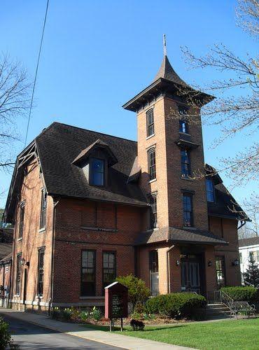 Town Of Clinton New York Kirkland Library Built 1871 Ny