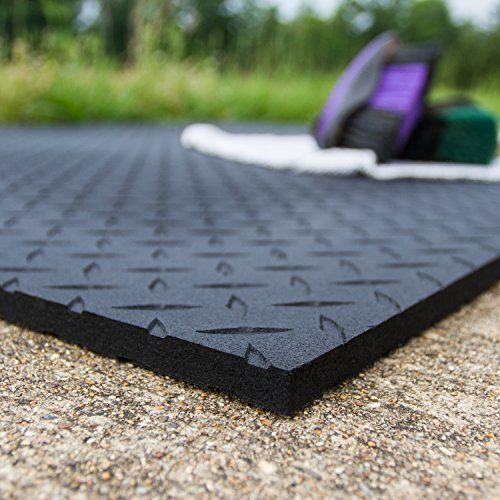Equine Stall Mat Bed Barn
