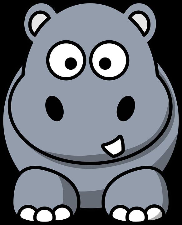 Imagem Gratis No Pixabay Hipopotamo Desenhos Animados Cartoon Hippo Cute Cartoon Animals Cute Animal Clipart