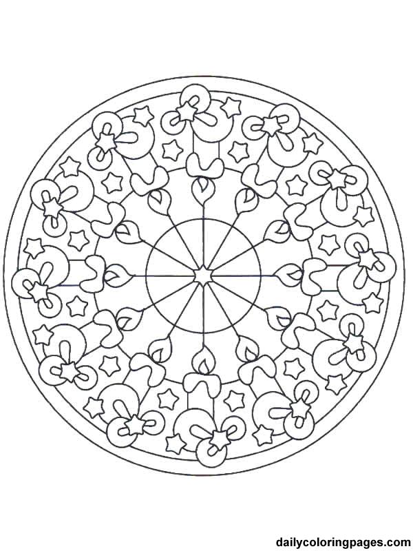 Christmas Mandalas To Color Mandala Coloring Pages Christmas Coloring Pages Christmas Mandala