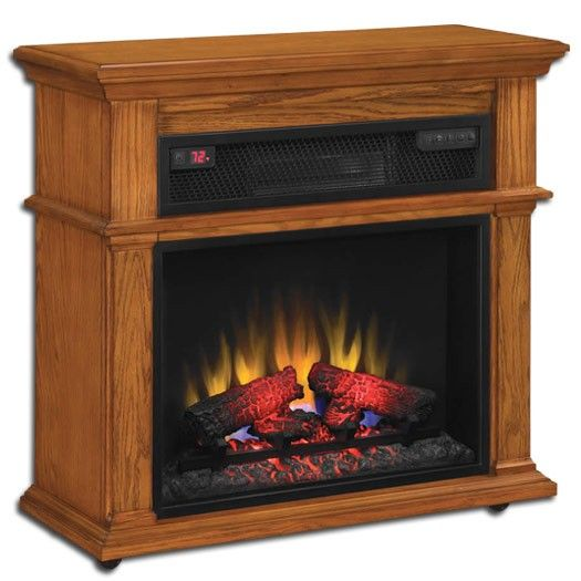 Duraflame Powerheat Infrared Electric Fireplace Heater With Full