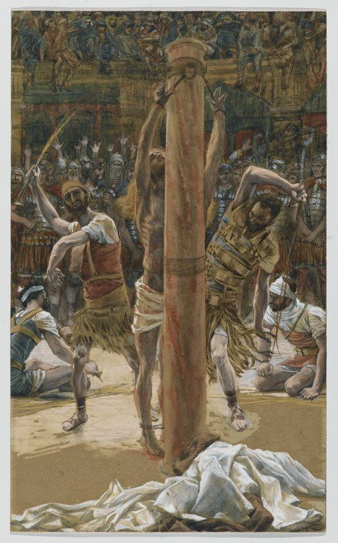 The Scourging on the Back (La flagellation de dos) : James ...