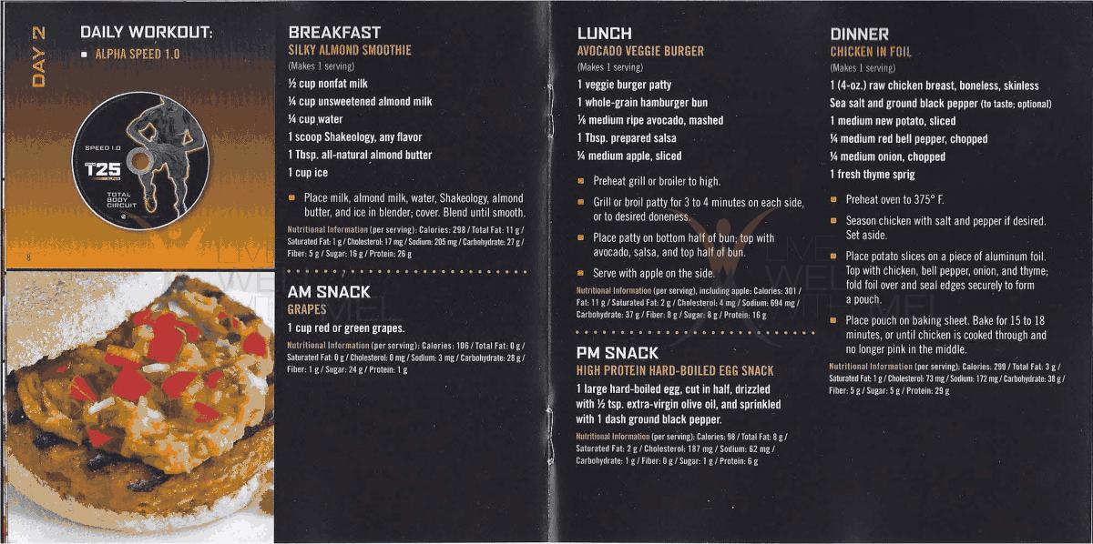 Focus t25 fast track 5 day mealpdf gainz pinterest meals focus t25 fast track 5 day mealpdf forumfinder Gallery