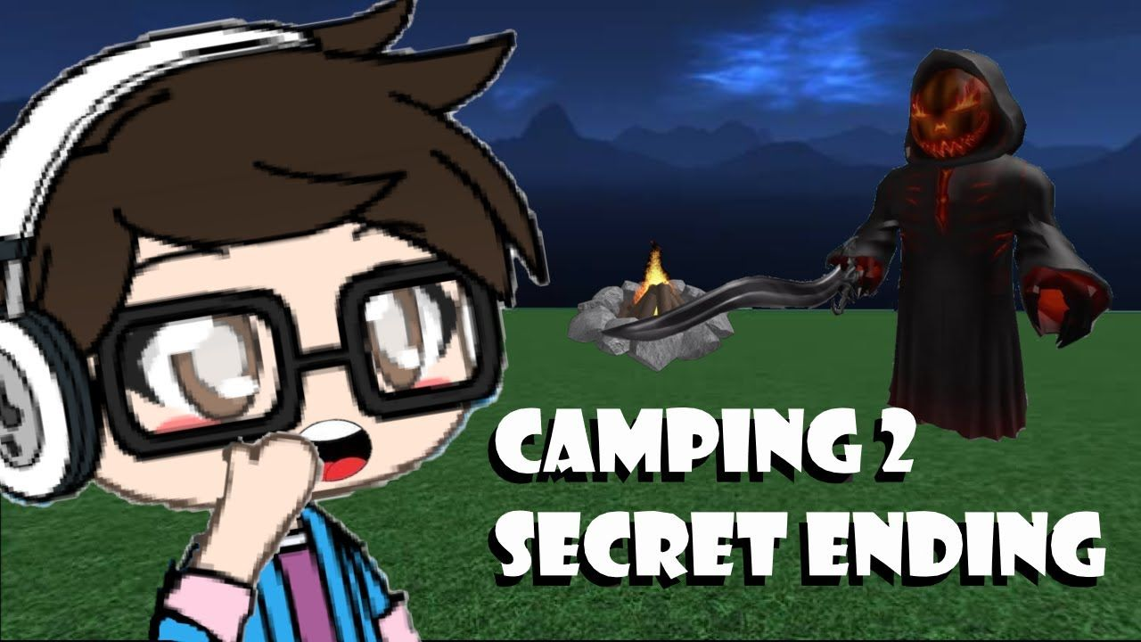 Camping Roblox Game All Endings