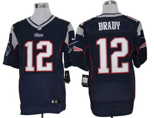 2aec2b04d8 Nike New England Patriots Tom Brady Navy Blue Silver Game Jersey New Tags  Sz XL…