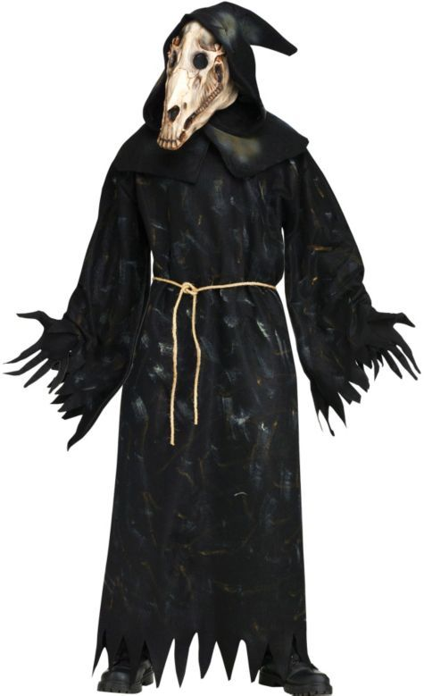 ee6504dd Adult Horse Skull Demon Costume - Party City | Halloween | Demon ...