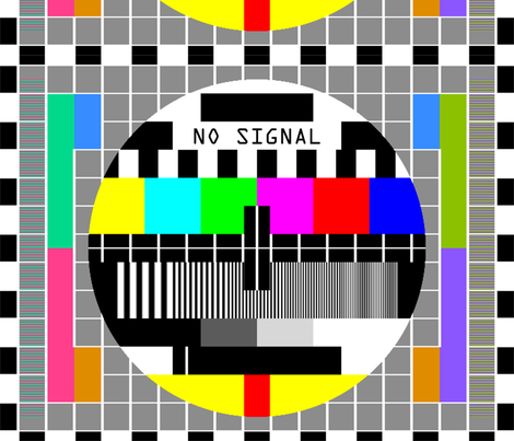 Tv Television Test Cards Patterns Rainbow Multi Colors