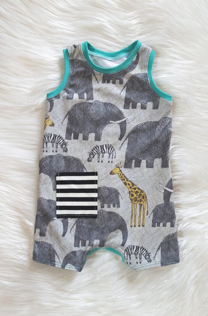 0286a73b4fd Safari Adventure Summer Shorts Romper