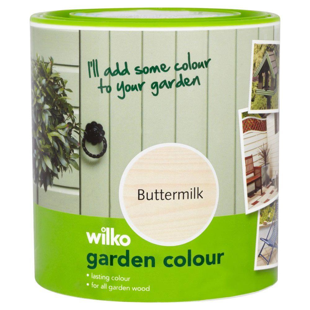 Wilko Garden Colour Buttermilk 1L | The project code name # wendy ...