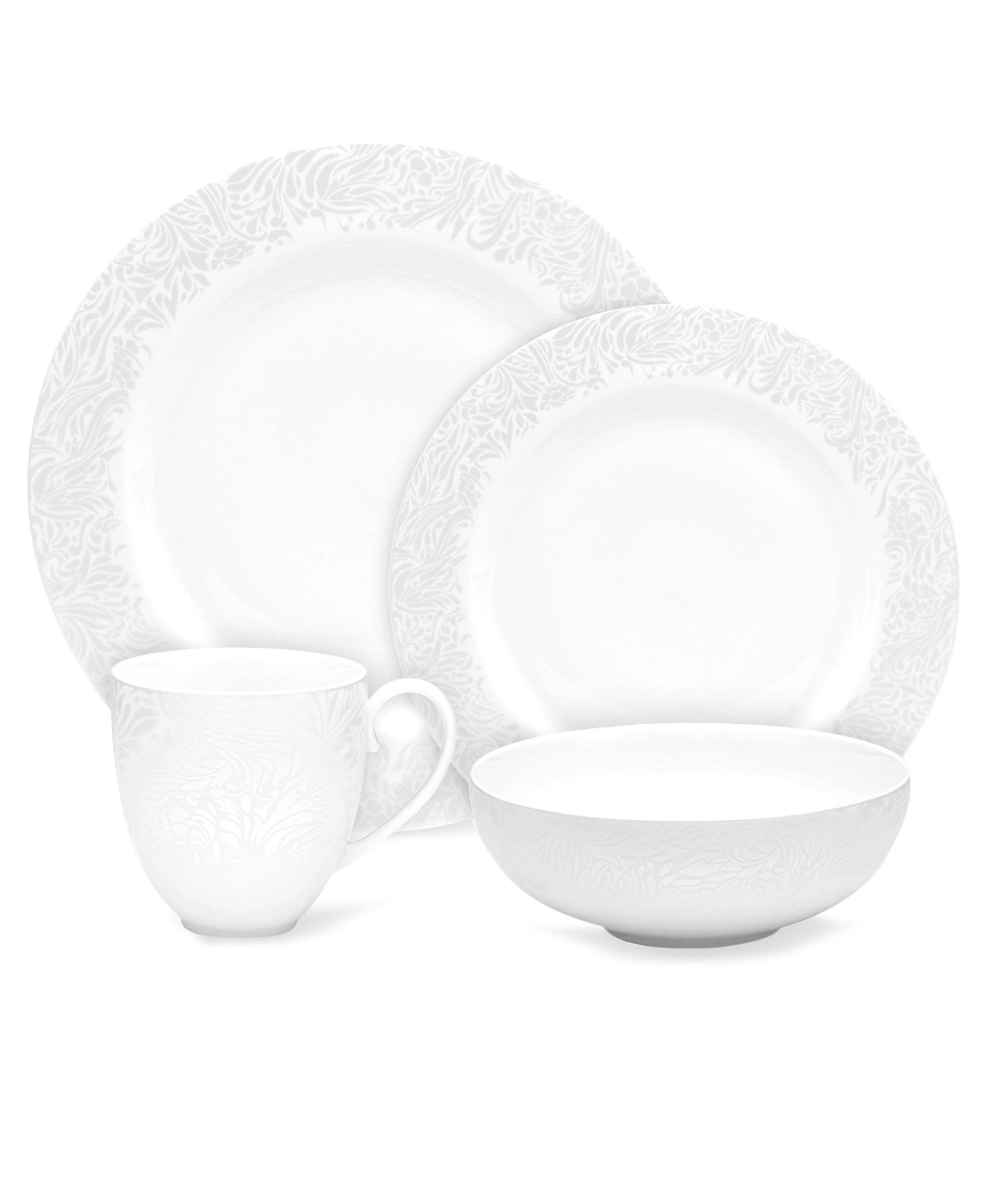 Monsoon Dinnerware Collection by Denby Lucille Silver 4 Piece Place Setting  sc 1 st  Pinterest & Monsoon Dinnerware Collection by Denby Lucille Silver 4 Piece Place ...