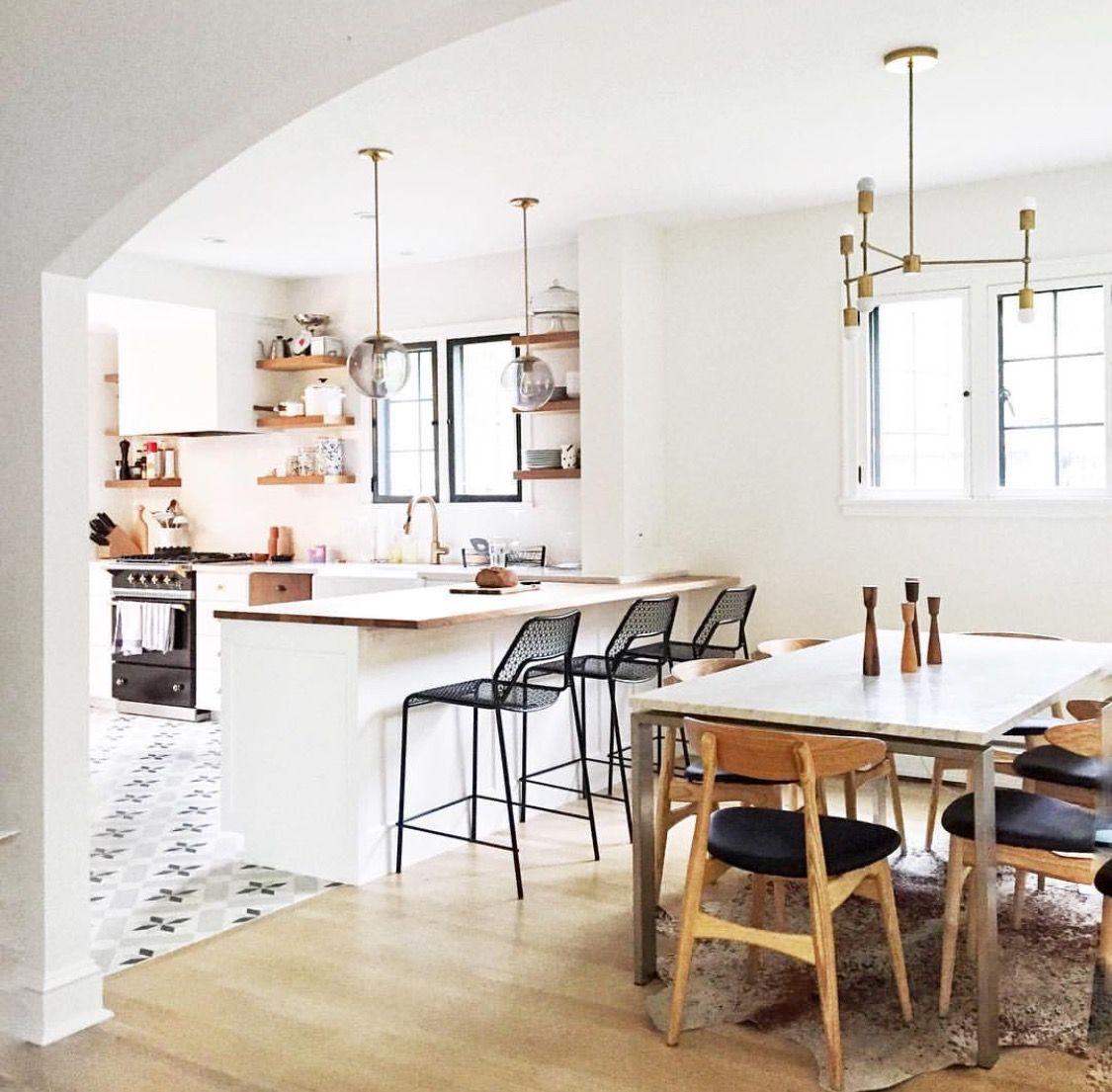 Moderne küchenideen der mitte des jahrhunderts pin von lea buchele auf haus  pinterest  haus moderne küche und