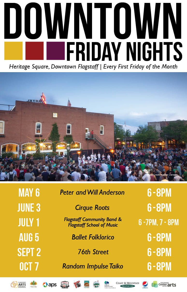 Downtown Friday Nights - Flagstaff Arts Council