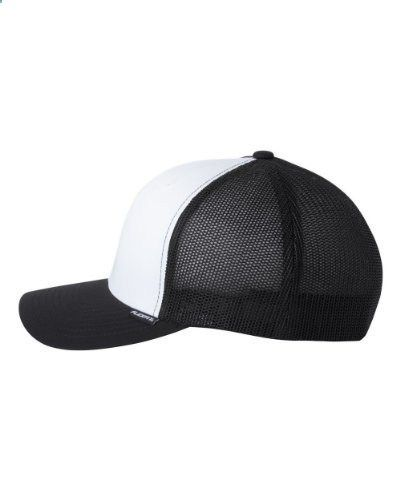 Flexfit Trucker Cap 6511 One Size Black  White  Black. Read more  description on the website. dec17e5b4