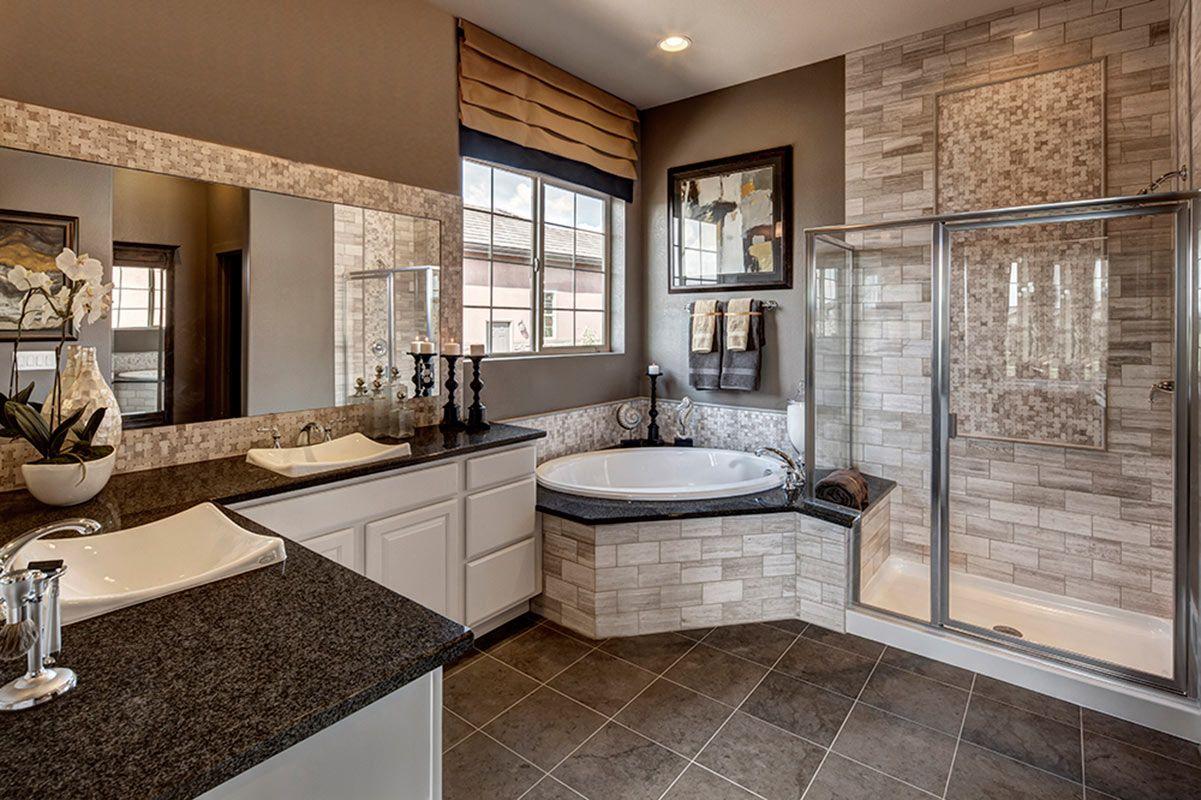 POSSIBILITIES FOR DESIGN | Master Bath | Model Home Design ... on Model Bathroom Ideas  id=65413