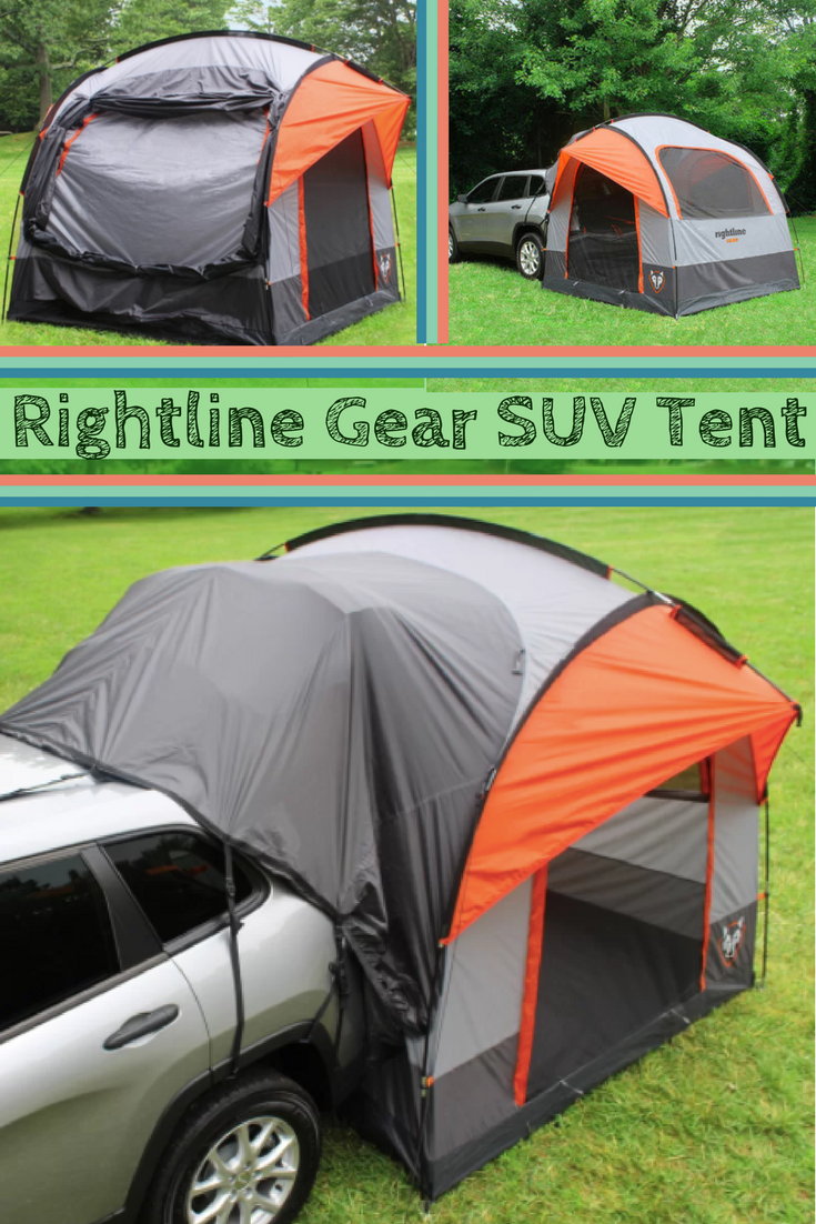 The Rightline Gear SUV Tent lets you sleep off the ground in the comfort of your own vehicle. Connects to the back of any size SUV ... & I want this for my Subaru! The Rightline Gear SUV Tent lets you ...
