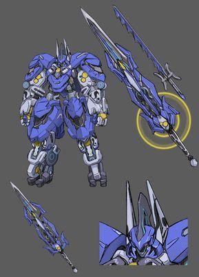 Dbn9dvuvqaawmkr Jpg 864 1200 Robot Concept Art Mecha Anime