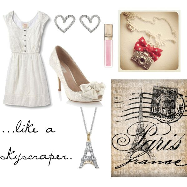 Kiss In Paris, created by junelovesward on Polyvore