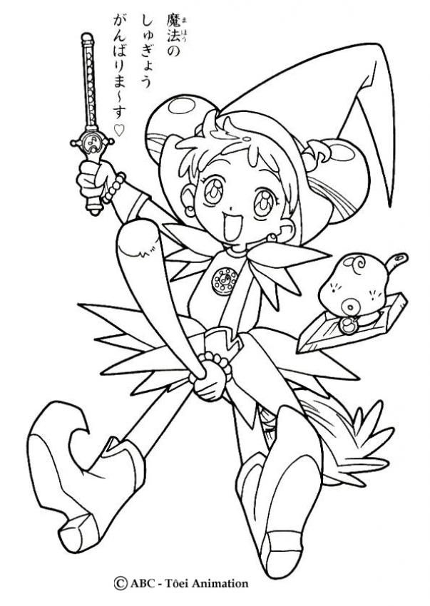 Doremi 3 Cooya Me Pinterest Magical Girl - Magical-doremi-coloring-pages
