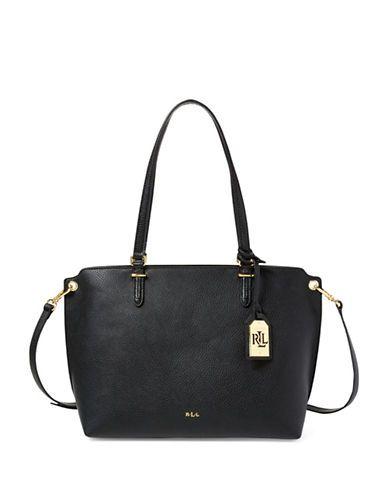 09d3e5dd31 Lauren Ralph Lauren Anfield Claire Shopper Bag Women s Black ...