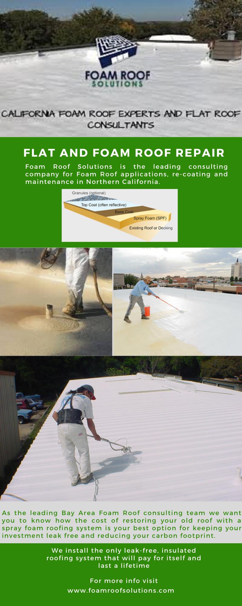 Flat Urethane Roof Repair Sacramento Davis Bay Area Residental Foam In 2020 Roof Repair Foam Roofing Flat Roof Repair