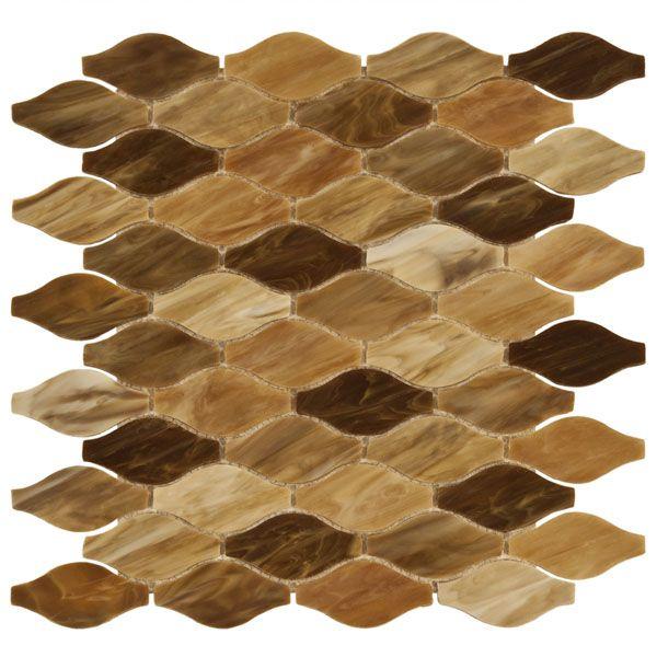 New Art Desert Sunset Comb Mosaic Gl Tile Bathroom And Kitchen All Day Long
