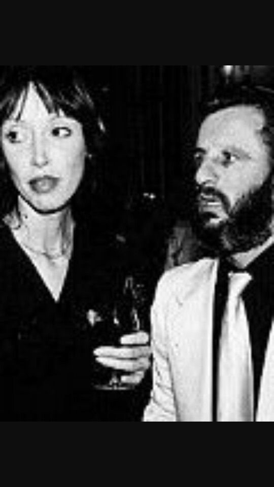 Shelley duvall and Ringo starr early 80s