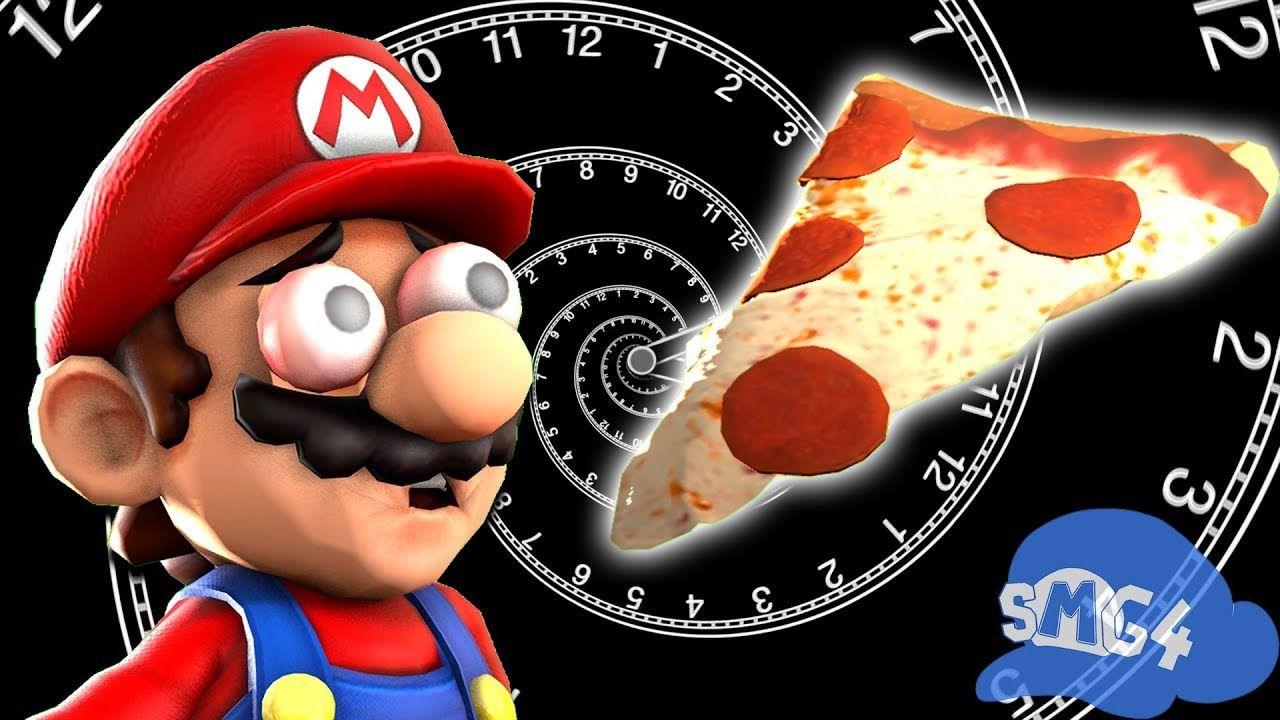 Smg4 Mario Waits For Pizza Youtube Mario Pizza Youtube Funny Gif
