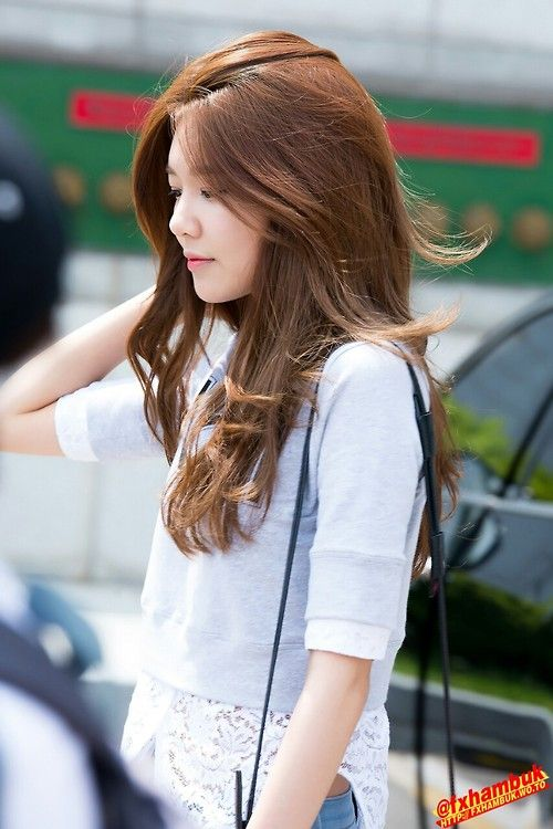 HAIRGOALS  WHO  Pinterest  Hair Coloring Sooyoung And Hair Style