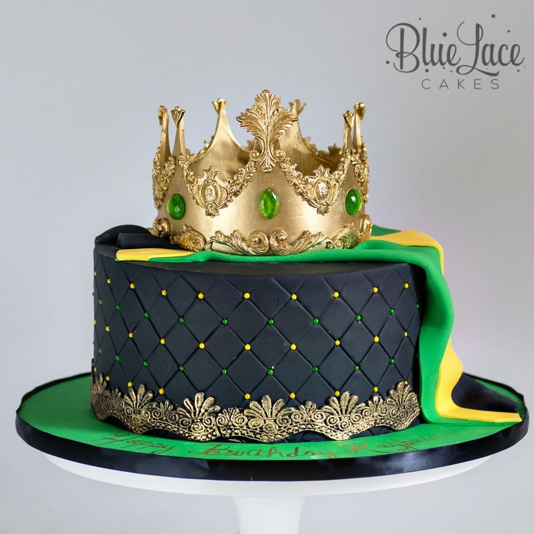 Excellent This Cake Is Fit For A Queen Jamaican Queen Birthday Cake With Personalised Birthday Cards Paralily Jamesorg