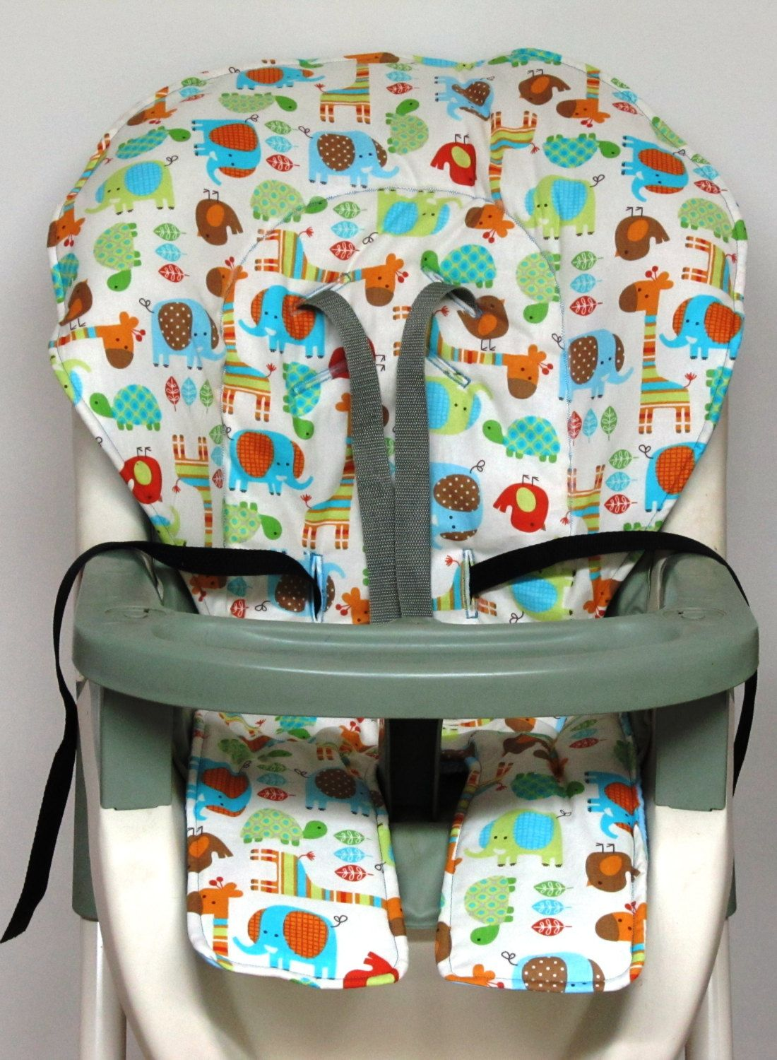 Graco High Chair Cover Replacement Walnut Eames Pad Jungle Fun By Sewingsilly On Etsy
