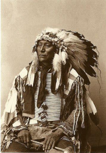 Hollow Horn Bear, Brule Sioux Chief, 1900