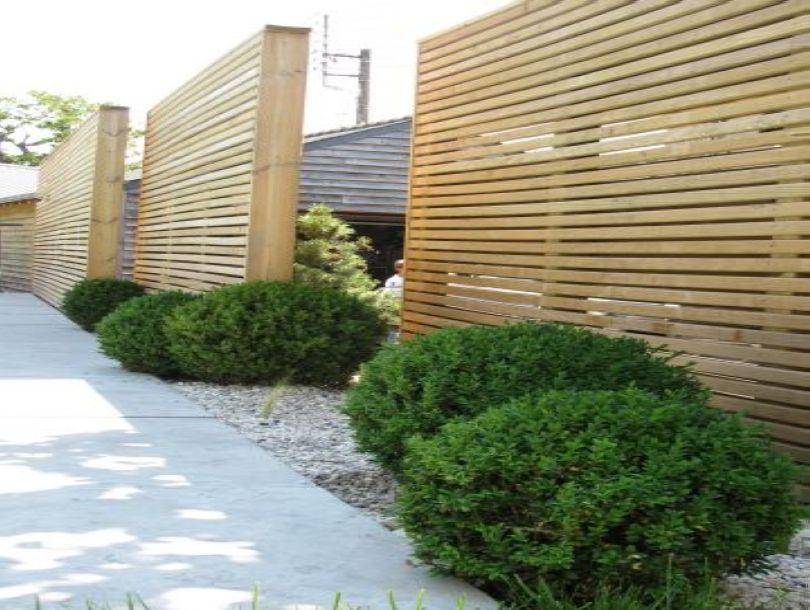 clôture japonaise nantes   Maison   Amenagement jardin, Jardins et ...