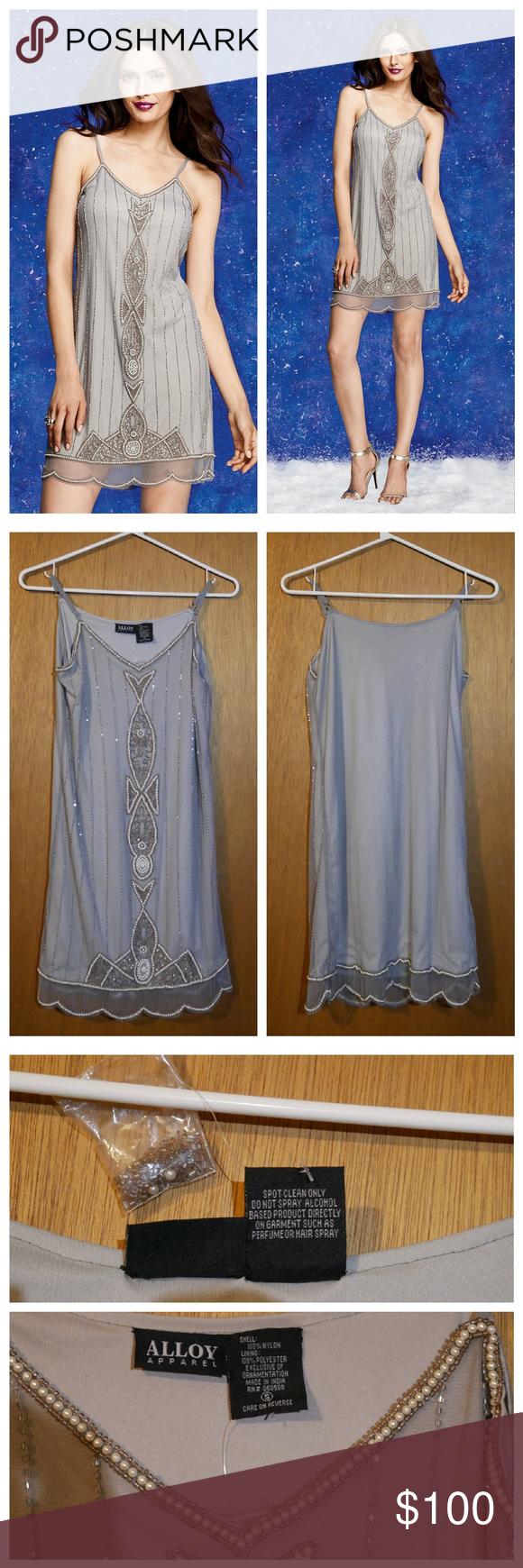 f5604d7a694a ❤😻 Delilah Beaded Slip Dress
