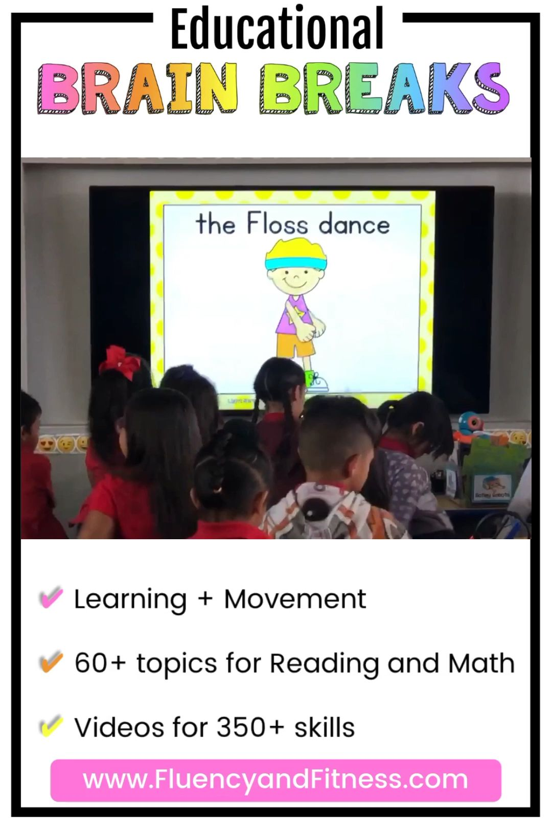 Number Sense Fluency and Fitness Brain Break