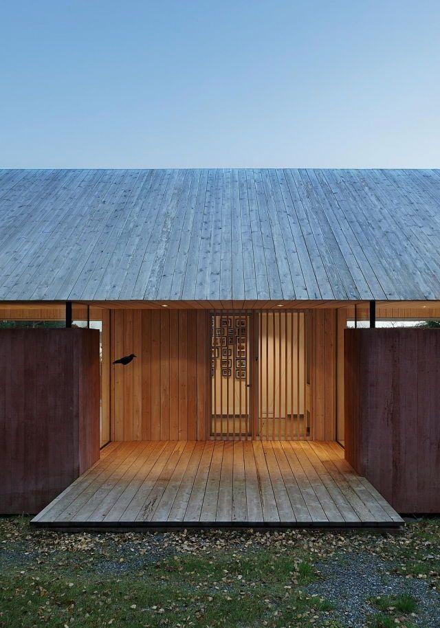 Pin von shakshi auf building ideas pinterest for Japanische architektur holz