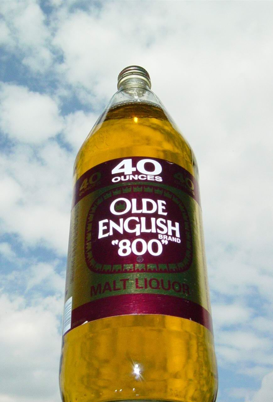 old english beer 40 oz | posted by chef cheeba at 4 45 am