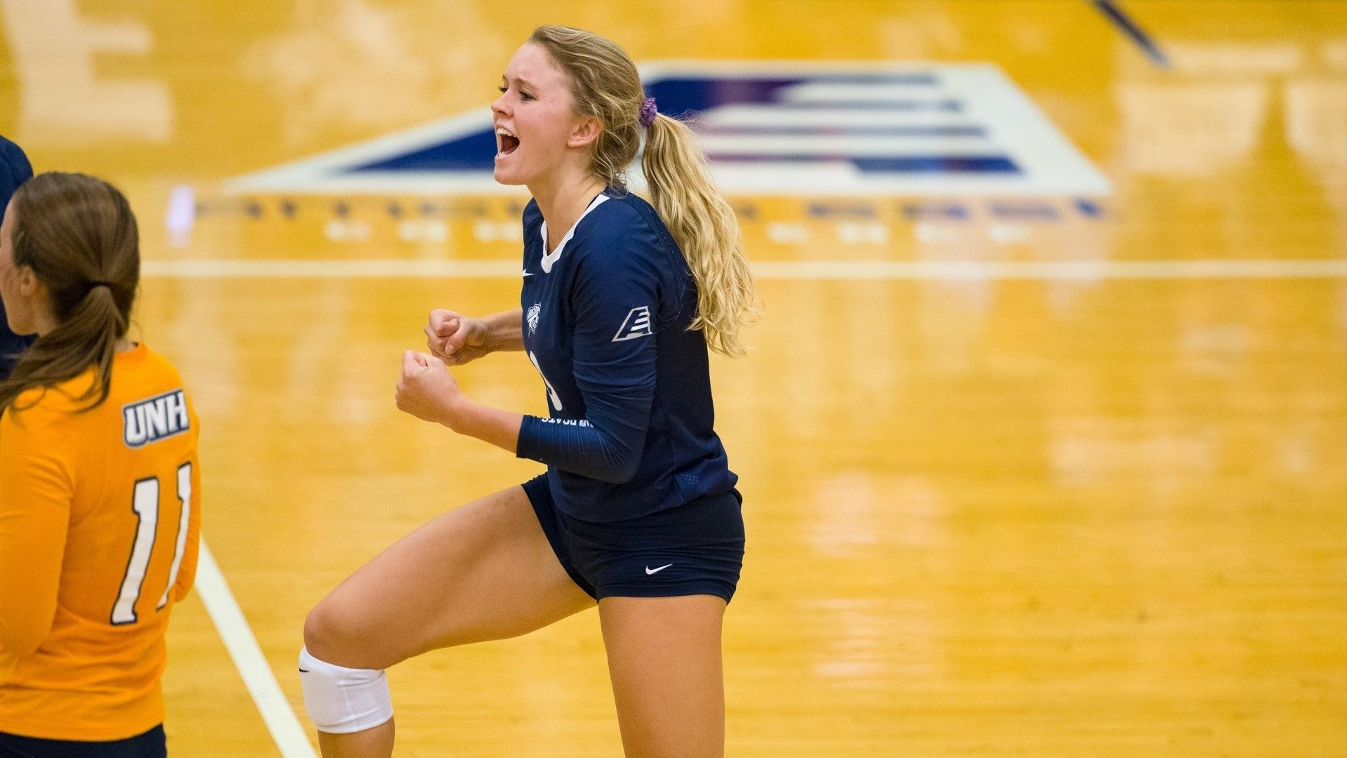 Tanski Shines Again In Four Set Victory Over Rutgers University Of New Hampshire Athletics Volleyball News University Of New Hampshire Athlete