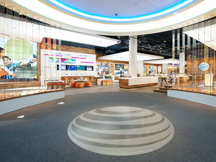 ATT flagship store Chicago Illinois 02 MOBILE STORES! AT&T