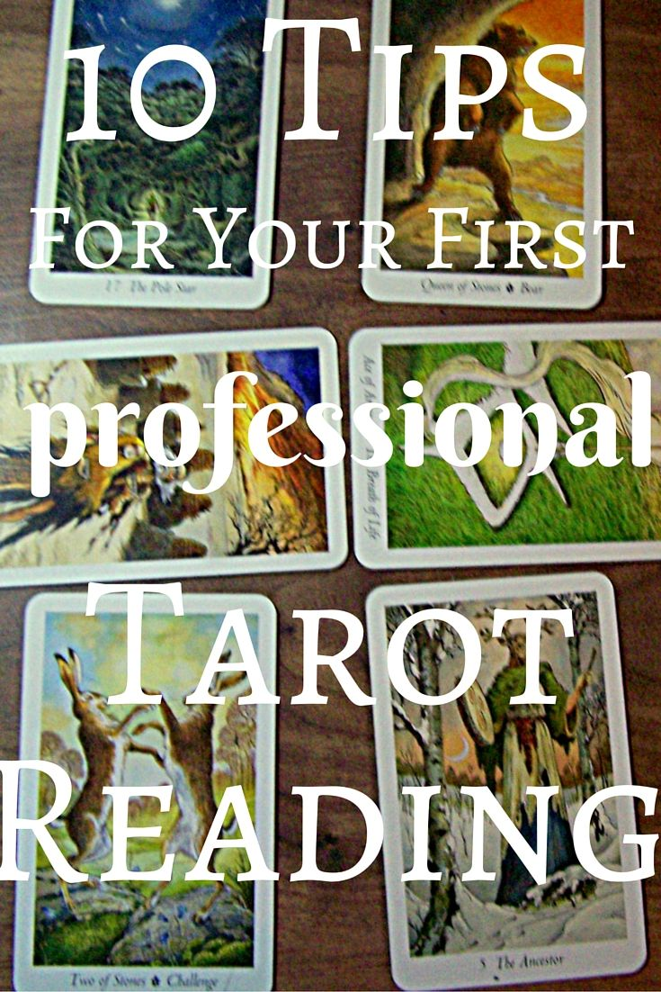 two types of tarot cards