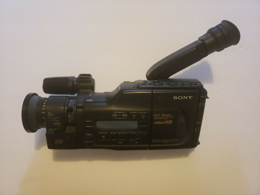 Sony HI8 Camcorder Handycam ccd-v701/ntsc for parts Repair