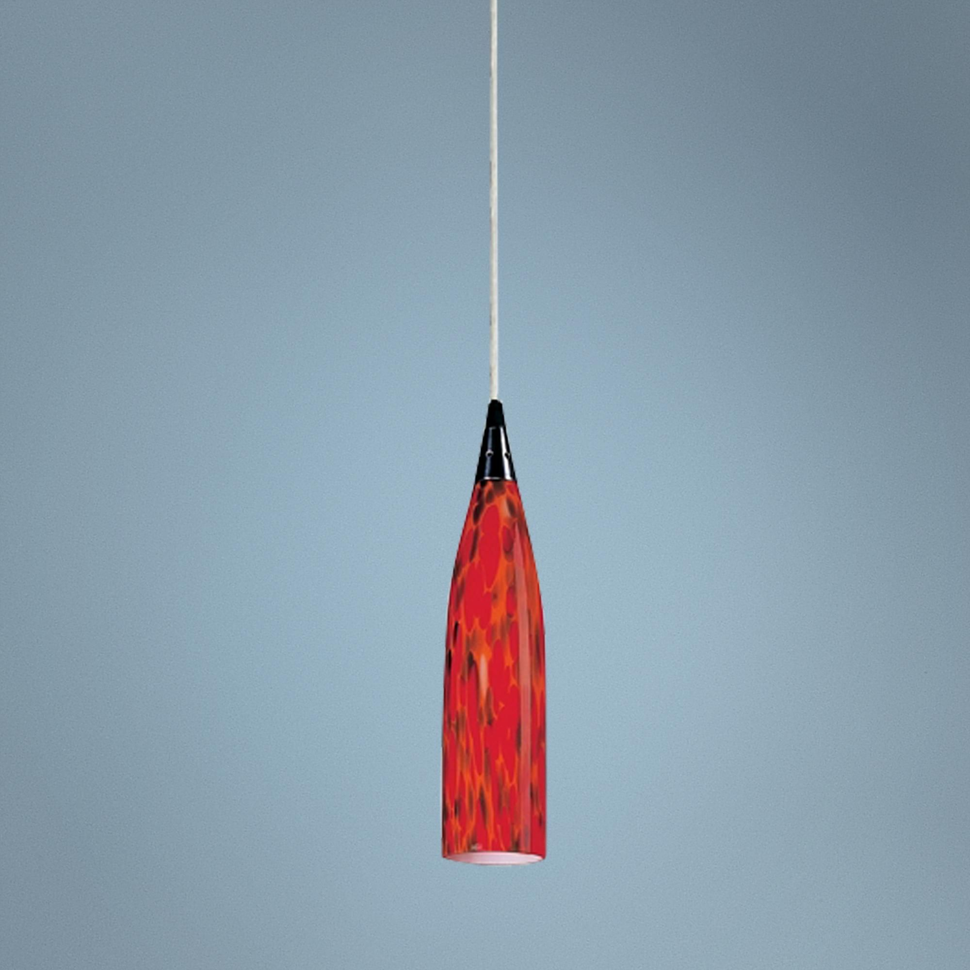 Lungo collection fire red mini pendant chandelier style 84001 food lungo collection fire red mini pendant chandelier lampsplus arubaitofo Choice Image