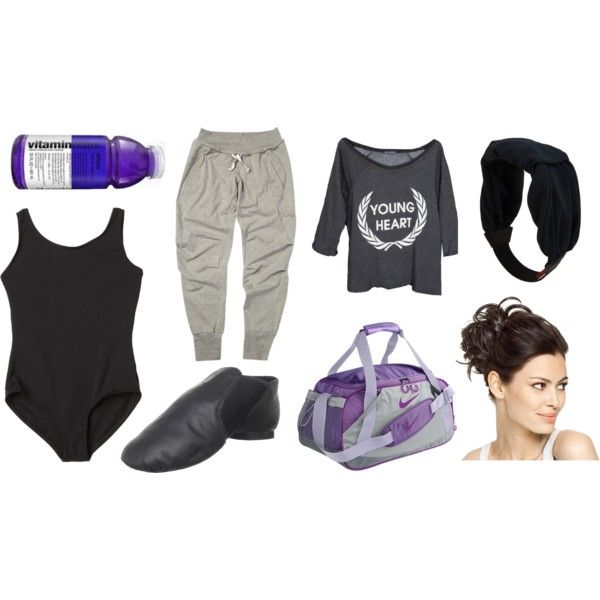 """Ballet exercice outfit"" by hanne-bonte on Polyvore"