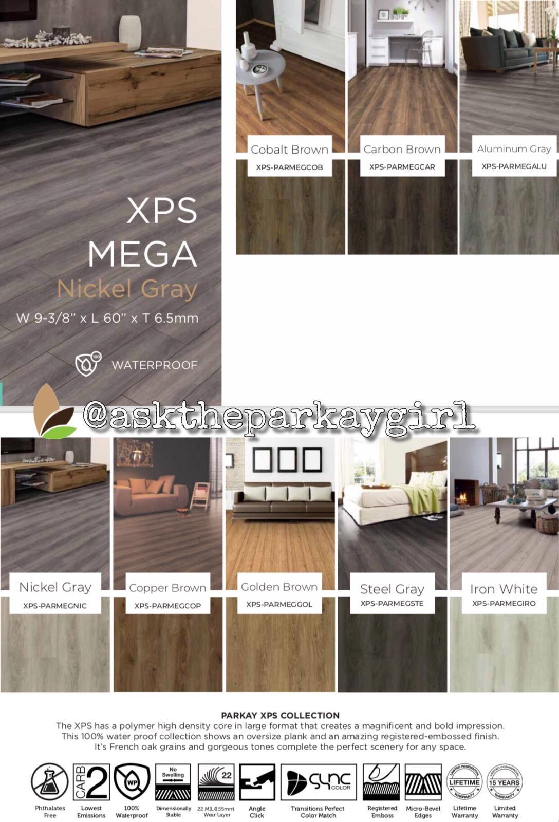 Parkay XPS Mega Collection. vinyl