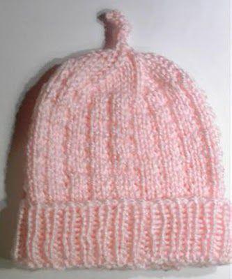 Sea Trail Grandmas Free Knit Preemie And Newborn Patterns Hats