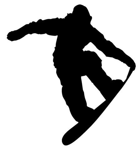 Silhouettes Of Snowboarders Google Search Sillhouettes