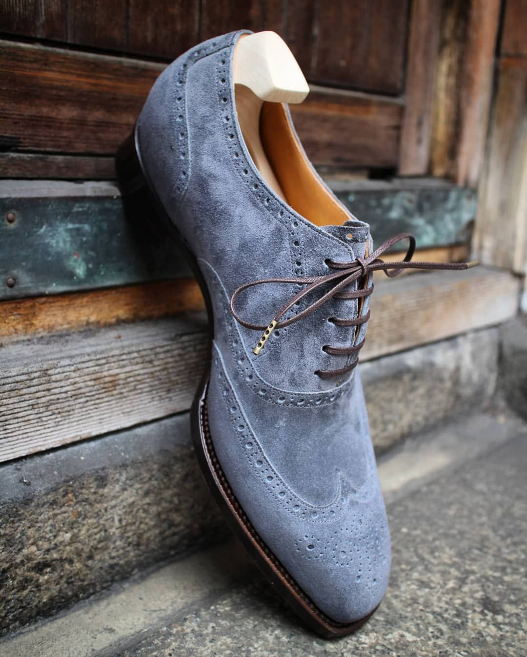 """Andante on Instagram: """"Full brogue oxford.(medial) Andante"""