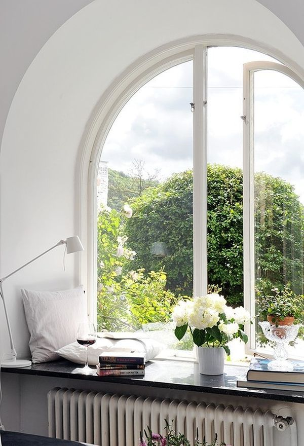 Large Windows And How To Decorate Around Them | Rest Well, Live Easy ...
